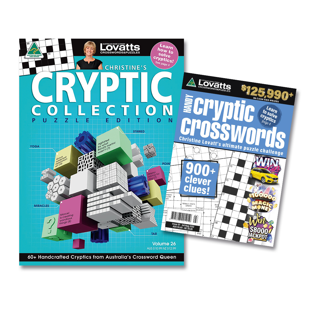 Lovatts Cryptics Bundle - Save Online!