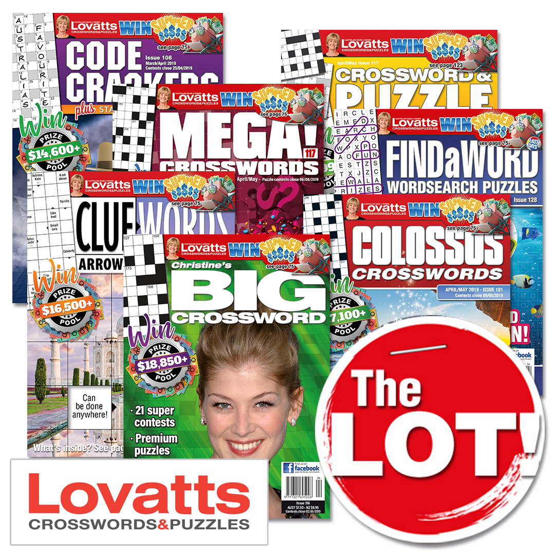 The Lot Puzzle Collection by Lovatts
