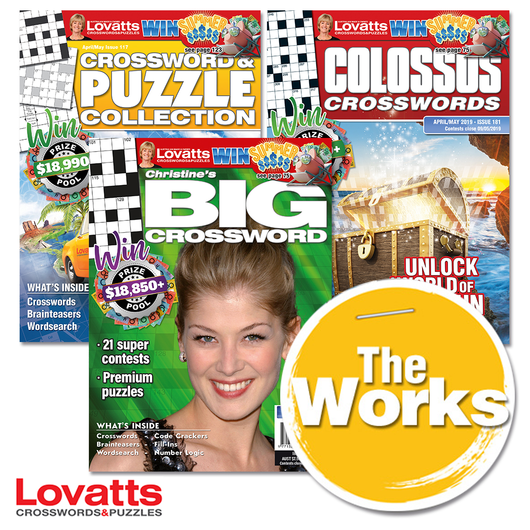 The Works puzzle collection by Lovatts