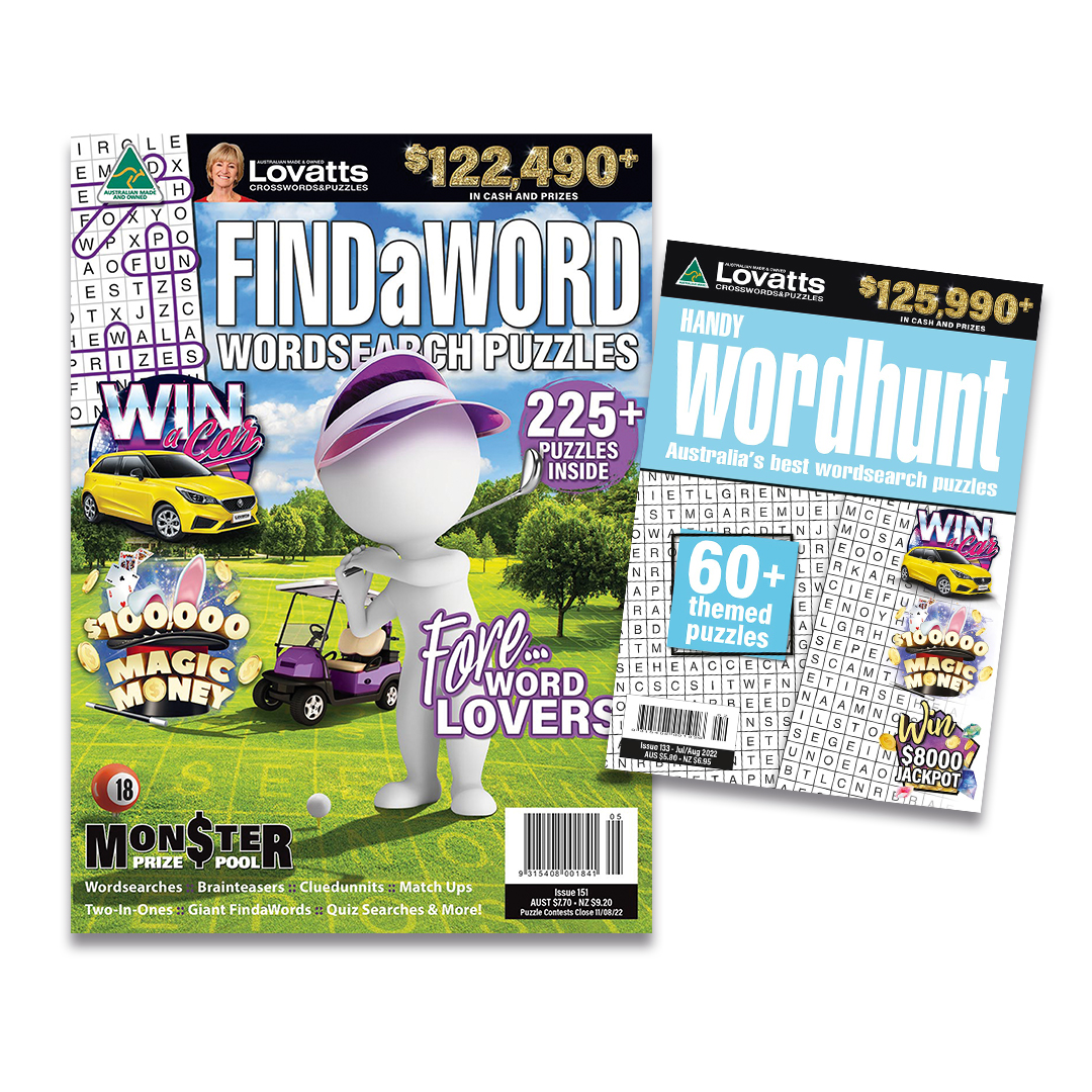 Lovatts Crossword Puzzle Magazines Save Online