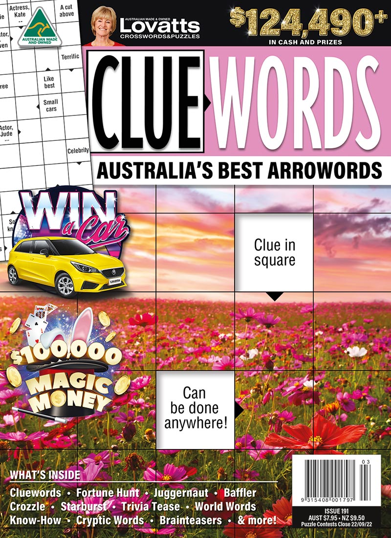 Cluewords magazine