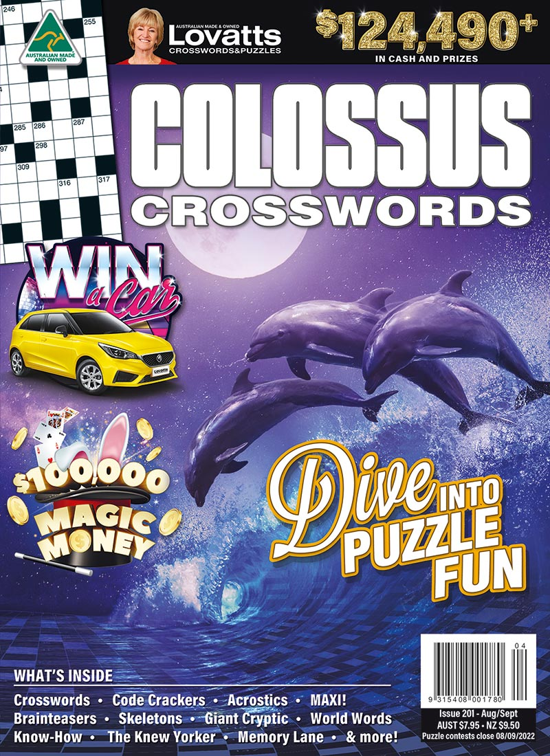 Colossus Crosswords magazine