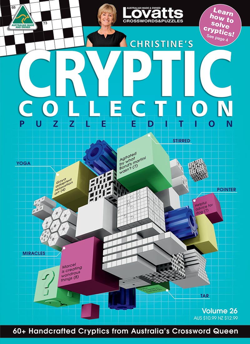 Christine's Cryptic Crossword Collection magazine