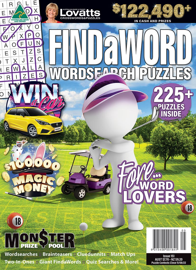 FindaWord magazine