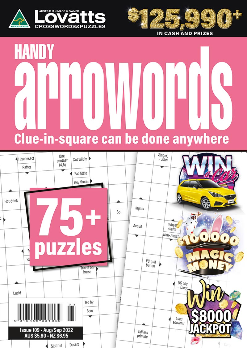 Handy Arrowords magazine