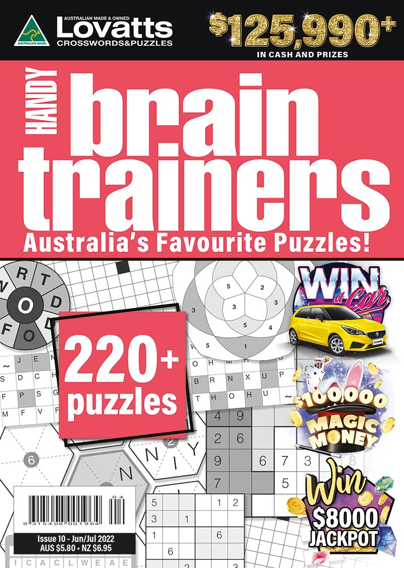 Handy BrainTrainers magazine