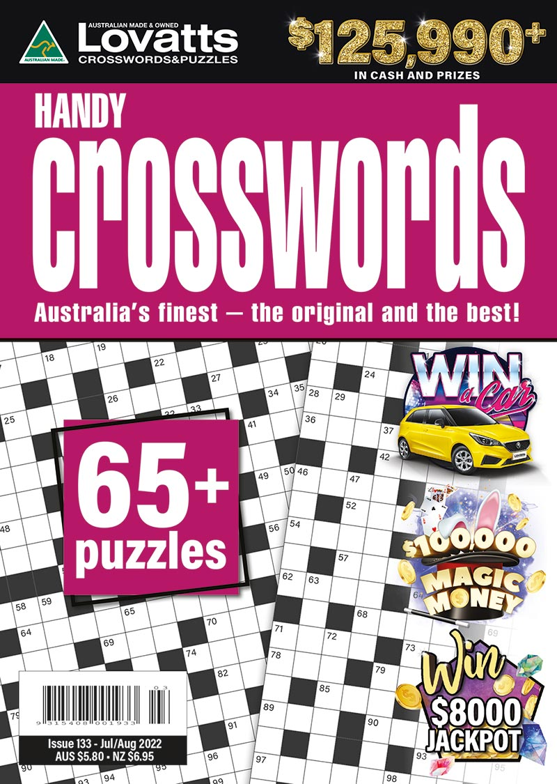 Handy Crosswords magazine