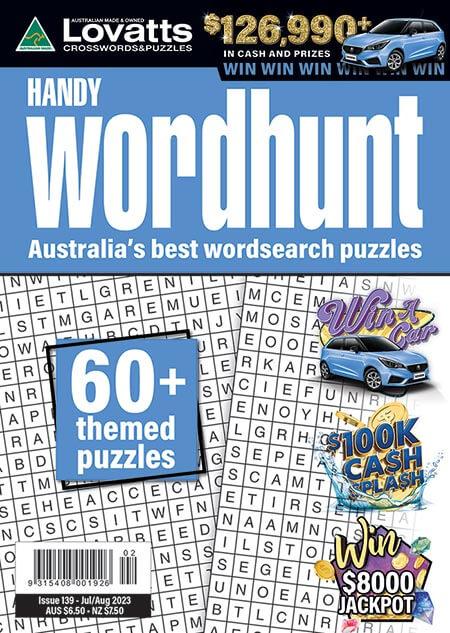 Handy Wordhunt - Save Online!