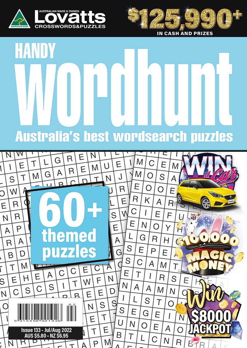Handy Wordhunt magazine