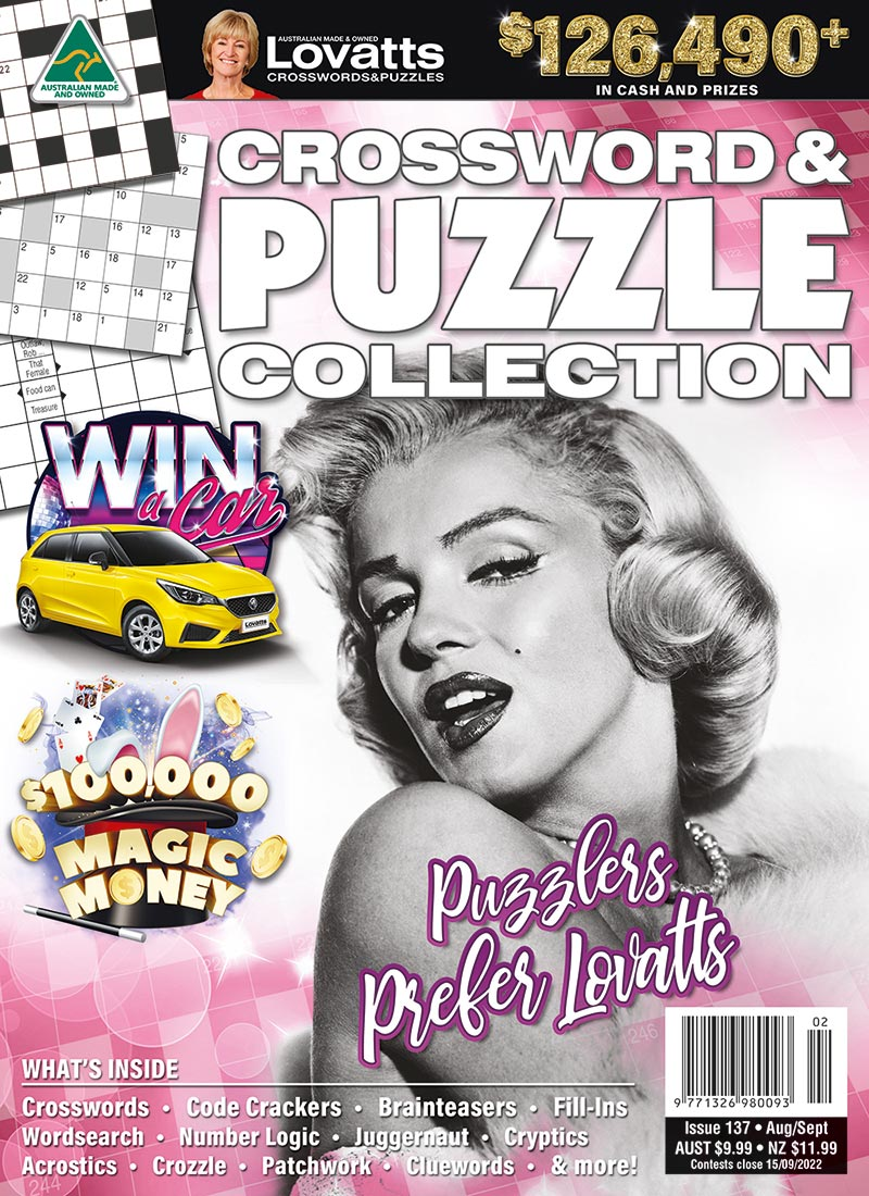 Crossword & Puzzle Collection Magazine