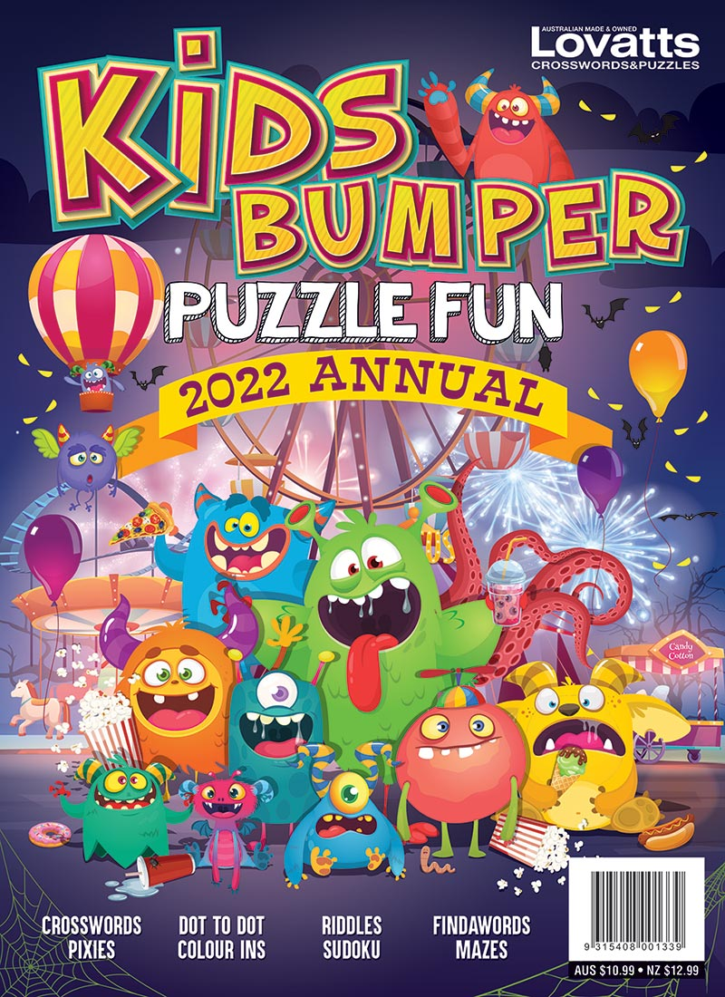 Kids Bumper Puzzle Fun Annual