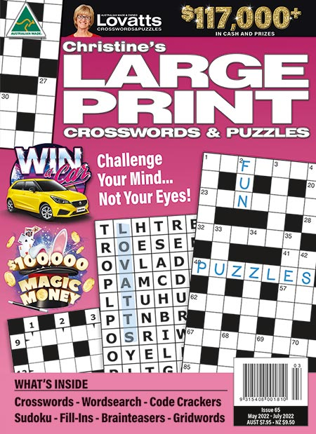 Lovatts Crossword & Puzzle magazines - Save online!
