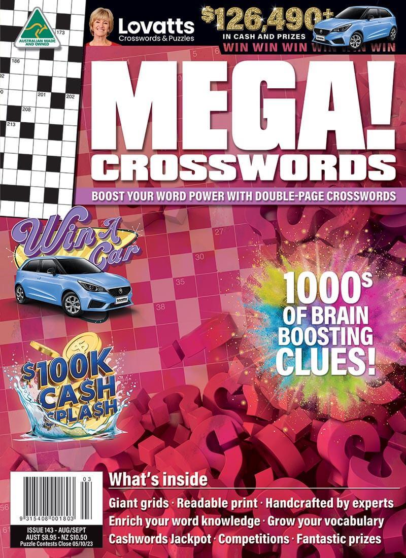 MEGA! Crosswords