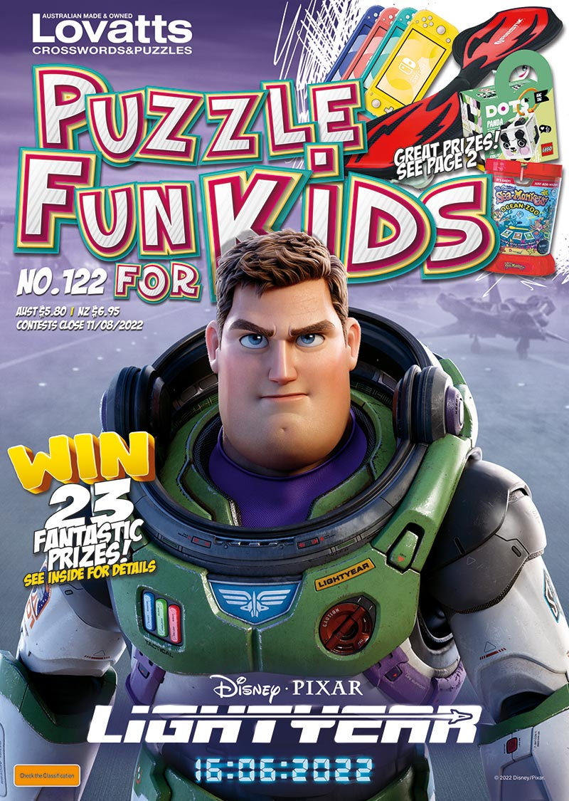 Puzzle Fun For Kids magazine