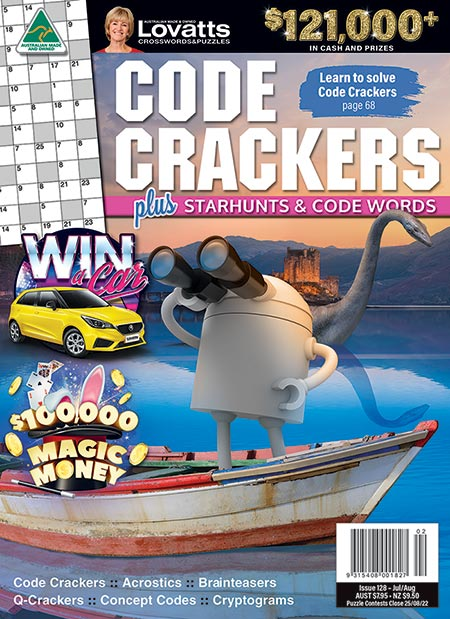 Play Lovatts Daily Online Code Cracker | Updated Daily
