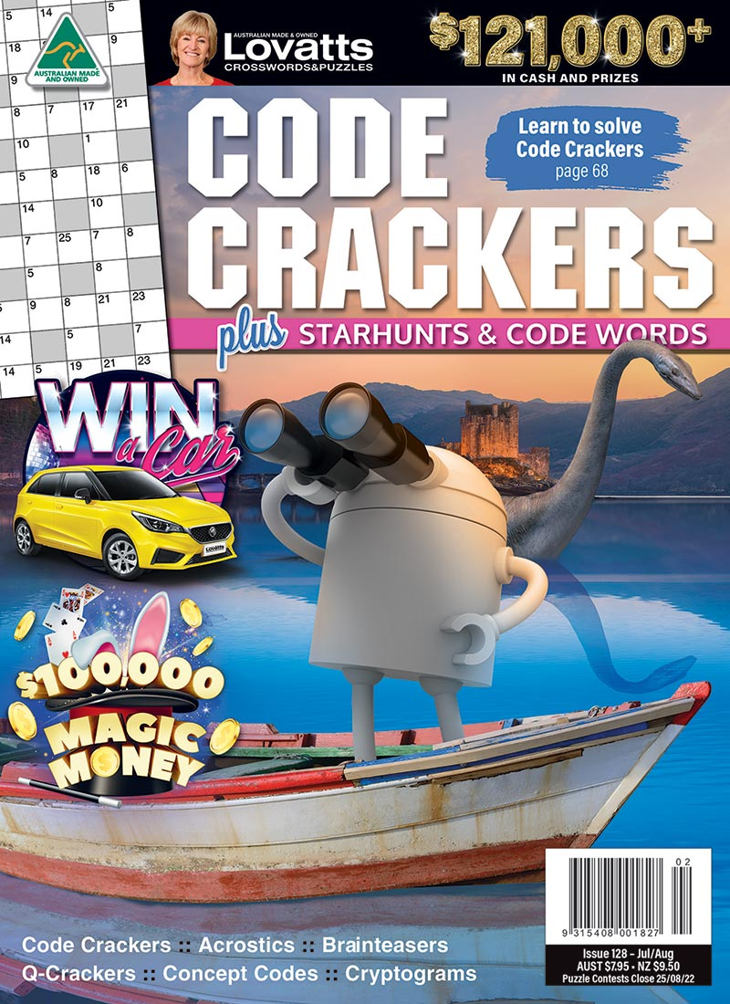 Code Crackers magazine