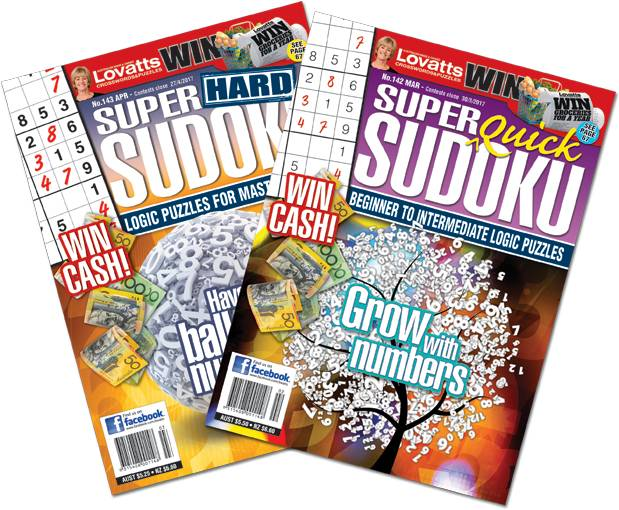 Super Sudoku magazine