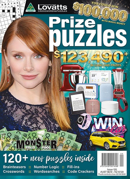 Lovatts Prize Puzzles magazine by Lovatts