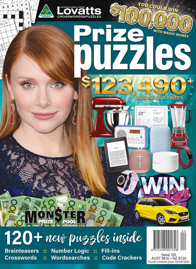 Variety Prize Puzzles magazine