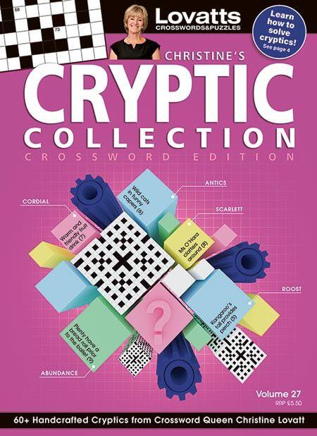 Christine's Cryptic Crosswords