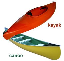 Kayak canoe vehicle rack survive the nights for Canoe vs kayak fishing