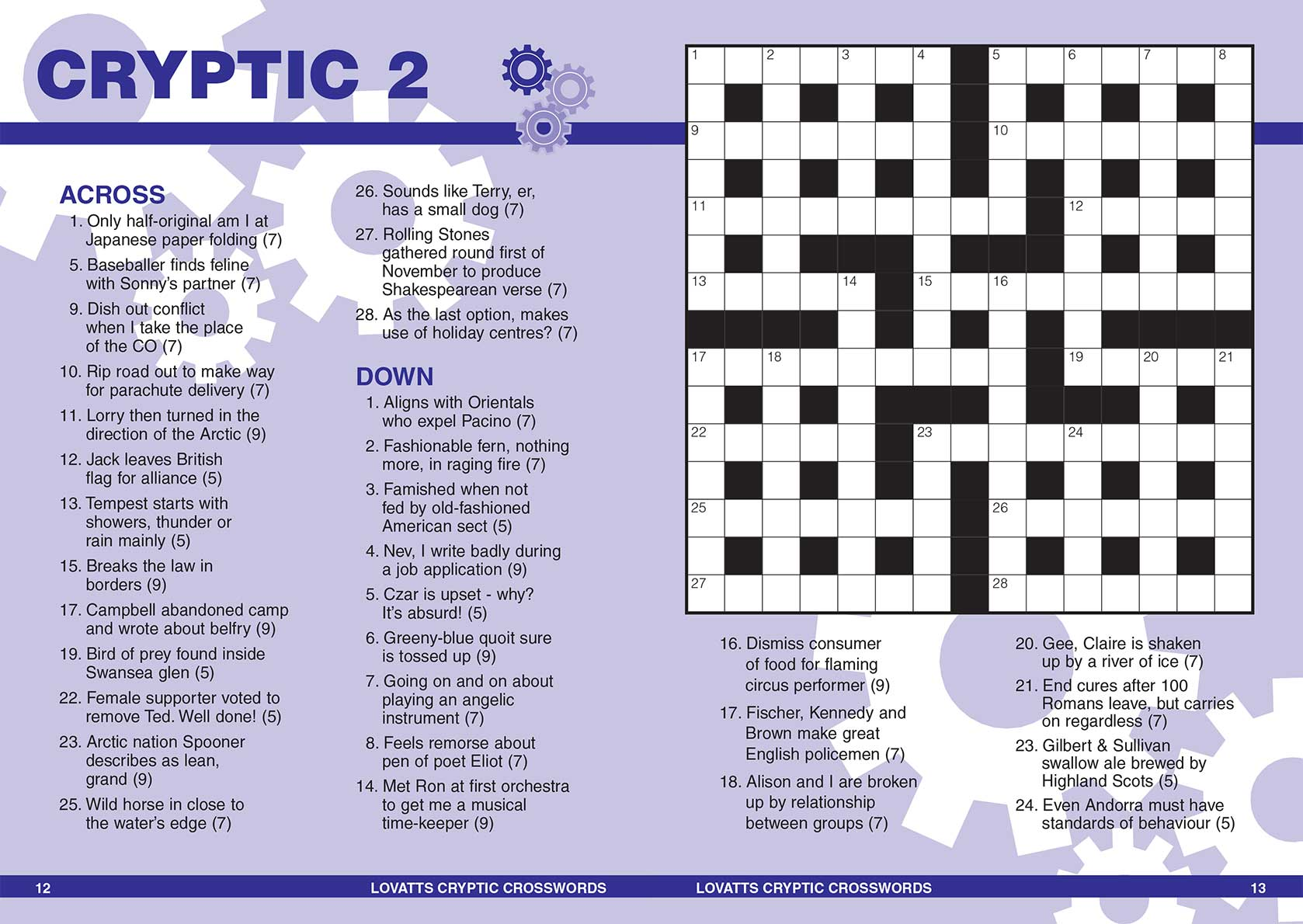 Lovatts Handy Cryptic Crosswords Magazine