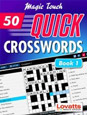 Magic Touch Crosswords iBook by Lovatts - British Style