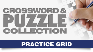Crossword & Puzzle Collection Competition Practice Grids