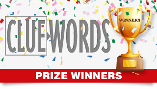 Cluewords Competition Prize Winners