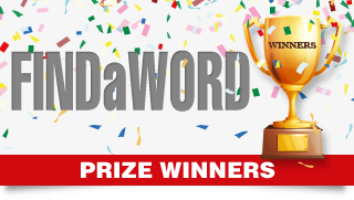 Findaword Competition Prize Winners