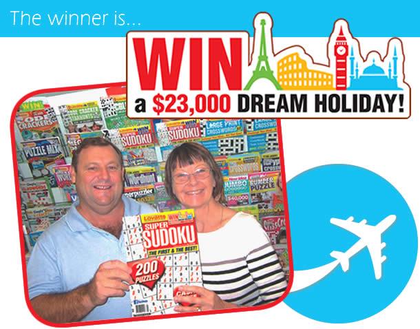 Dream Holiday Winner - Peter Francis