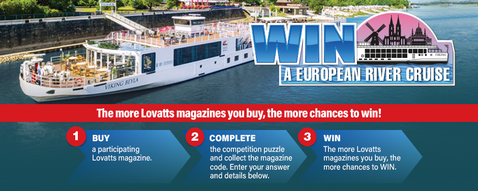 Lovatts Puzzles Win a Cruise
