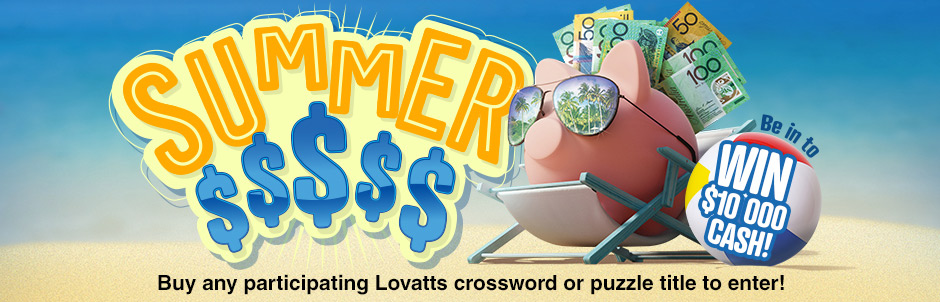 Lovatts Puzzles Summer Cash Giveaway Promotion