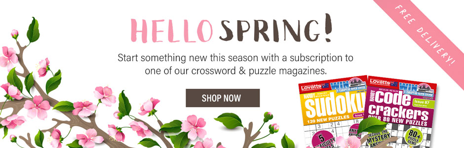 Lovatts Crosswords & Puzzles | Magazines or Play Online