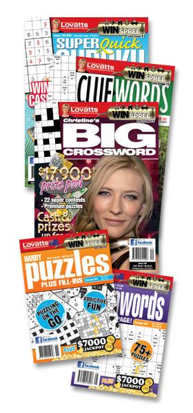 Lovatts magazines - WIN A CAR!