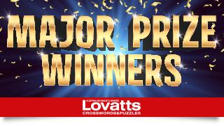 Major Prize Winners