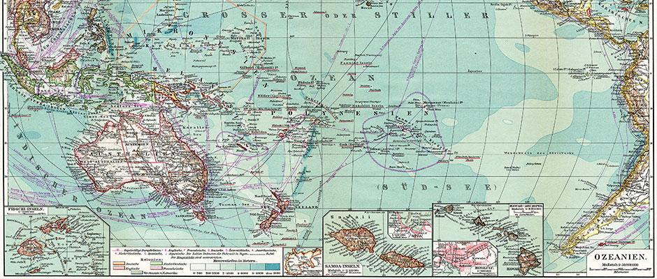 Australasia vs Oceania
